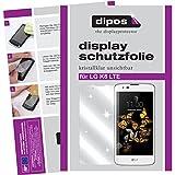 dipos I 6X Schutzfolie klar kompatibel mit LG K8 LTE Folie Displayschutzfolie