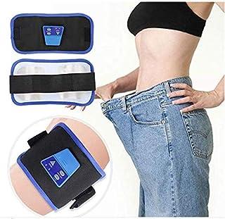 Cinturón de tonificación - Masaje corporal electrónico que adelgaza Ejercitador abdominal de la cintura que quema grasa, Cinturón de ejercicio tonificante
