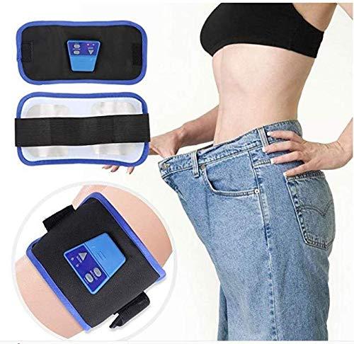DEWIN Bauchtrainer Elektronisch - Elektronische Körper abnehmen Massage Fettverbrennung Taille Bauchtrainer, Toning Übung Gürtel