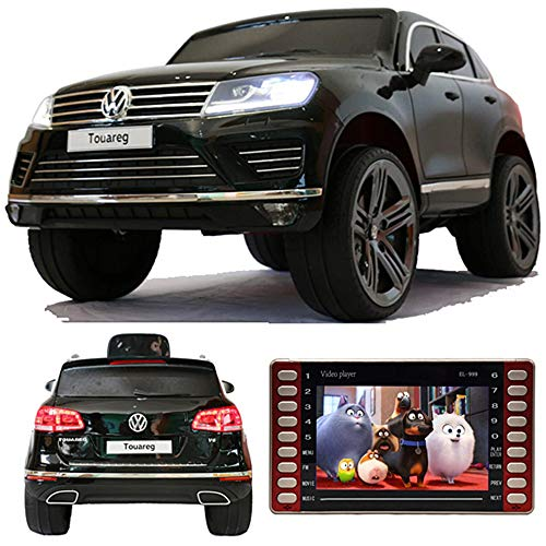 crooza Touareg Touch-Display Bluetooth SoftStart Kinderauto Kinderfahrzeug Kinder Elektroauto SCHWARZ*