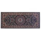 WEBTAPPETI.IT Tappeto Stile Orientale/Classico Tappeto arredo Soggiorno e Camera Royal Shiraz 2082-BLUE 100x240