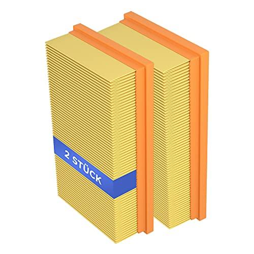 Flachfaltenfilter Filter 2 Stück Ersatz für Kärcher 6.904-367.0 69043670 NT361 NT561 NT661 Lamellenfilter Zubehör Ersatzteile für Staubsauger/Nass- und Trockensauger/Industriesauger