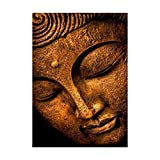 Ranuw Stickereifarbe, Buddha, 5D DIY Full Diamond Painting Stickerei Cross Craft Stitch Kit Home Decor
