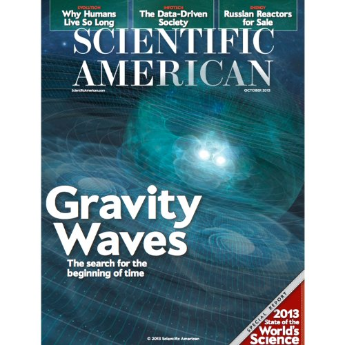 Scientific American, October 2013 audiobook cover art