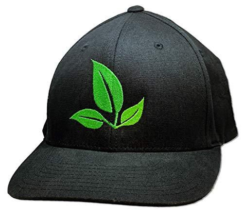 PureCrop1 Leaf Hat Flexfit (S/M) Black