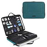 BAGSMART Laptop Aktentasche mit Elektronik Zubehör Organizer, Notebooktasche für 14 Zoll Laptop,...
