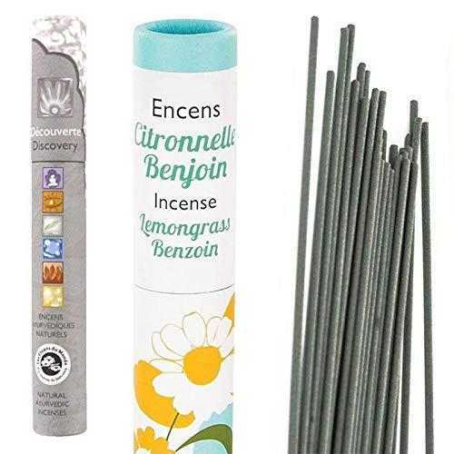 Les Encens du Monde Incenso Naturale Citronella e benzoino + incenso Naturale ayurvedico