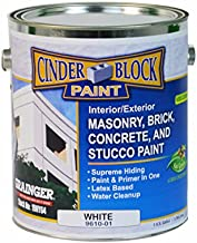 Masonry & Stucco Paint, White, 1 gal.