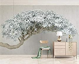 MUMUWU Tree Flower Murals Wallpaper 3D TV Background Large Wall Painting Wallpapers for Living Room Mural (Color : 2, Size...