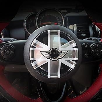 Union Jack Car Steering Wheel Cover For Mini Cooper F54 F55 F56 F57 F60 Clubman