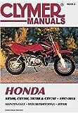 Honda XR50R, CRF50F, XR70R and CRF70F, 2000-2016 Clymer Repair Manual (Clymer Powersport)