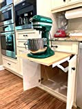 Wood Technology Kitchen Appliance Lift in White...