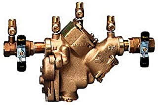WATTS REGULATOR 3/4LF909-QT-S WATTS SERIES 909 BACKFLOW PREVENTER 3/4 IN., LEAD