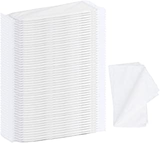 Sponsored Ad - Disposable Hair Towels, BS 50pcs Large Hair Salon Towels-Spa and Salon Quality Softness for Hair Face, Body...