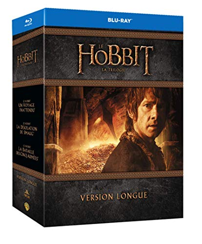 Trilogie Le Hobbit blu ray