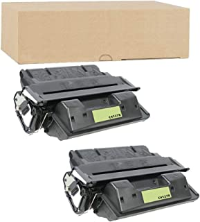 ADE Products Compatible Toner Replacements for 2 HP 27X (High Yield Black), 2 HP C4127X, for HP Laserjet 4000, 4000n, 4000se, 4000t, 4000tn, 40050, 4050 USB-mac, 4050n, 4050se, 4050t, 4050tn