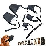 Bozal de perro malla transpirable, seguridad para perros con lazo ajustable y almohadilla suave