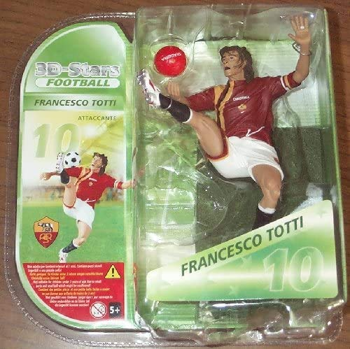 3D Stars AS Roma Figure FRANCESCO TOTTI Football
