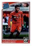 2018-19 Donruss Optic #176 Alphonso Davies FC Bayern Munich Rookie Soccer Card. rookie card picture
