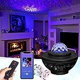 GOHYO Proyector Estrellas, Proyector Planetario con Altavoz de Música y Temporizador, Control Remoto Bluetooth Proyector Infantil Decoración para Dormitorio, Regalo para Niños Amigos