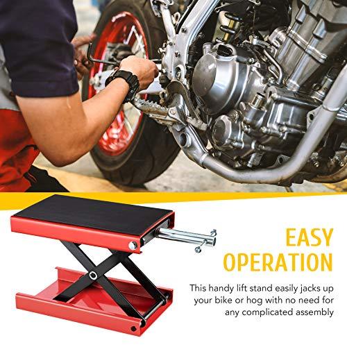 Orion Motor Tech Dilated Scissor Lift Jack for Street Bike, Cruiser, Adventure Touring Motorcycle