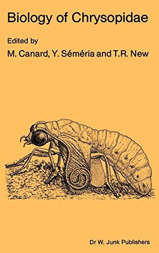 Biology of Chrysopidae (Series Entomologica, 27, Band 27)