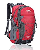 Diamond Candy Waterproof Hiking Backpack for Men and Women, 40L Lightweight Day Pack for Travel...