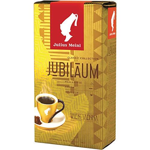Julius MEINL Kaffee JUBILÄUM, gemahlen, 5 Packungen mit jeweils 500 g, gesamt 2.5 KG