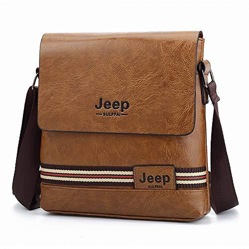 Confortable Slung Shoulder Bag Sac Vertical for Hommes en Cuir Sacoche for Affaires en Cuir for Hommes Sac for Hommes Élégant (Couleur
