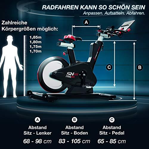 Sportstech SX600 Elite Indoor Cycle Bike Fitness Bild 6*