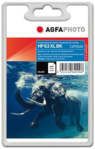 AgfaPhoto APHP62BXL Remanufactured Tintenpatronen Pack of 1