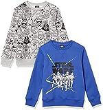 Spotted Zebra Disney Marvel Fleece Crew Sweatshirts Sudadera, Star Wars Stormtroopers, 9-10 años