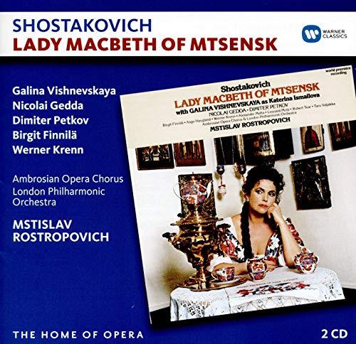 Mstislav Rostropovich - Shostakovich. Lady Macbeth Of