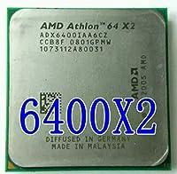 X2 6400+ CPU Athlon Socket AM2 3.2GHz Desktop CPU ADX6400IAA6CZ 940pin scrattered pieces (working 100%)