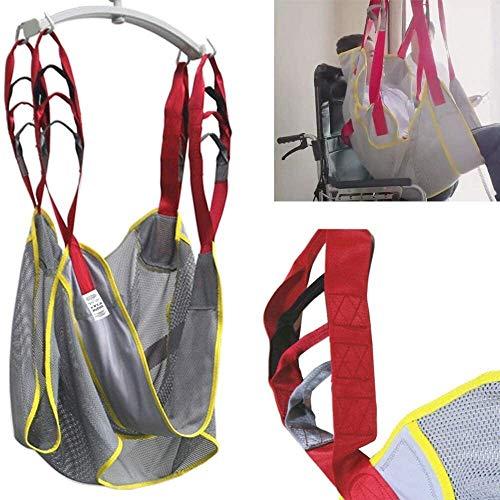 TINWG Ganzkörper-Patientenlift Padded Mesh-Sling mit Commode Opening Lifting Sitzkissen Übertragung Straps Gürtel Bad Toilette Hilfsmittel for Hip-Bein-Schenkel unterstützt große Tragfähigkeit 519