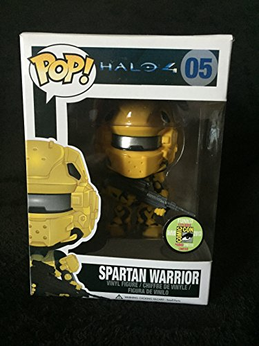 Funko Halo 4 Pop Vinyl: Spartan Warrior Yellow SDCC 2013 Exclusive Chase