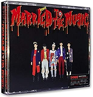SHINEE - [ MARRIED TO THE MUSIC ] Vol.4 Repackage Album CD + Photobook + Photocard Sealed K-POP