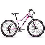 Damen Mountain Bikes, 21-Gang-Doppelscheibenbremse Mountain Trail Bike, Vorderradaufhängung...