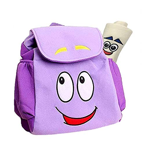 Dora The Explorer Leakproof Reusable Insulated Cooler Lunch Bag - Office Work Picnic Hiking Beach Lunch Box Organizer With Adjustable Shoulder Strap For Women,Men Aan Kids One Size