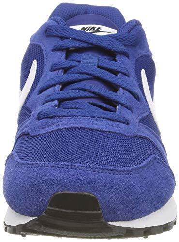 Nike Md Runner 2 - Zapatillas de correr para Hombre, Azul (Azul/Blanco/Negro), 40.5 EU