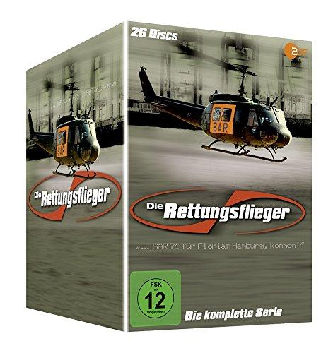 Die Rettungsflieger Box - Komplettbox - Staffel 1-11 [26 DVDs]