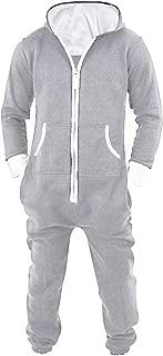 Men's Unisex Onesie Jumpsuit One Piece Non Footed Pajama Playsuit