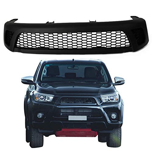 517UKFzwNxL - Frontgrill Front Racing Grill Zubehör/Fit for/T o y o t a Hilux Reco 2016 2017 2018