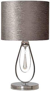 Lampe de Chevet Chambre Simple Moderne Lampe de Table Chambre Lampe de Chevet Simple personnalité Argent Gris créatif Mode...