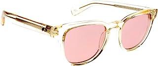 Paul Smith Hadrian PM8230SU - 1040/84 Sunglasses Transparent Light Yellow Frame w/ Light Violet 50mm