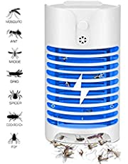 ELEAD Mosquito Killer Lamp Mosquito Repellent UV Light Ultrasonic Pest Insect Repellent Plug in Indoor Electronic Bug Pest Control No Traps Poison for Insects Mice Ants Spiders Rodents Roach