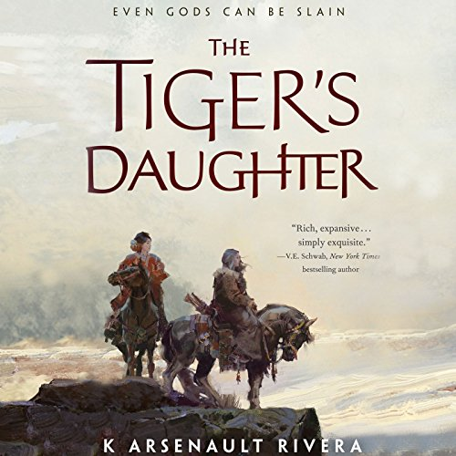 The Tiger's Daughter cover art