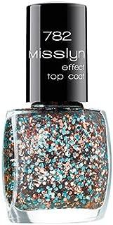 Misslyn Effect Top Coat No. 782 Big Top (Blue & Rose Gold)
