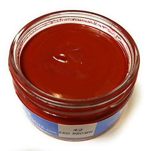 Crema Coprente Per Pelle Ripara Graffi e Segni (Shoe Cream)-042 Red Brown