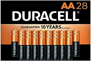 28-Count Duracell CopperTop AA Long Lasting Alkaline Batteries